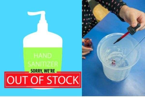 Make Hand Sanitizer at Home