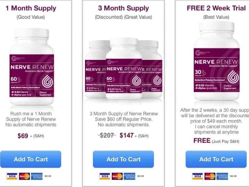 Where to Buy Nerve Renew