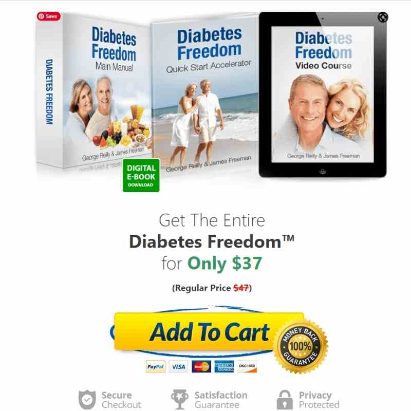 Buy Diabetes Freedom