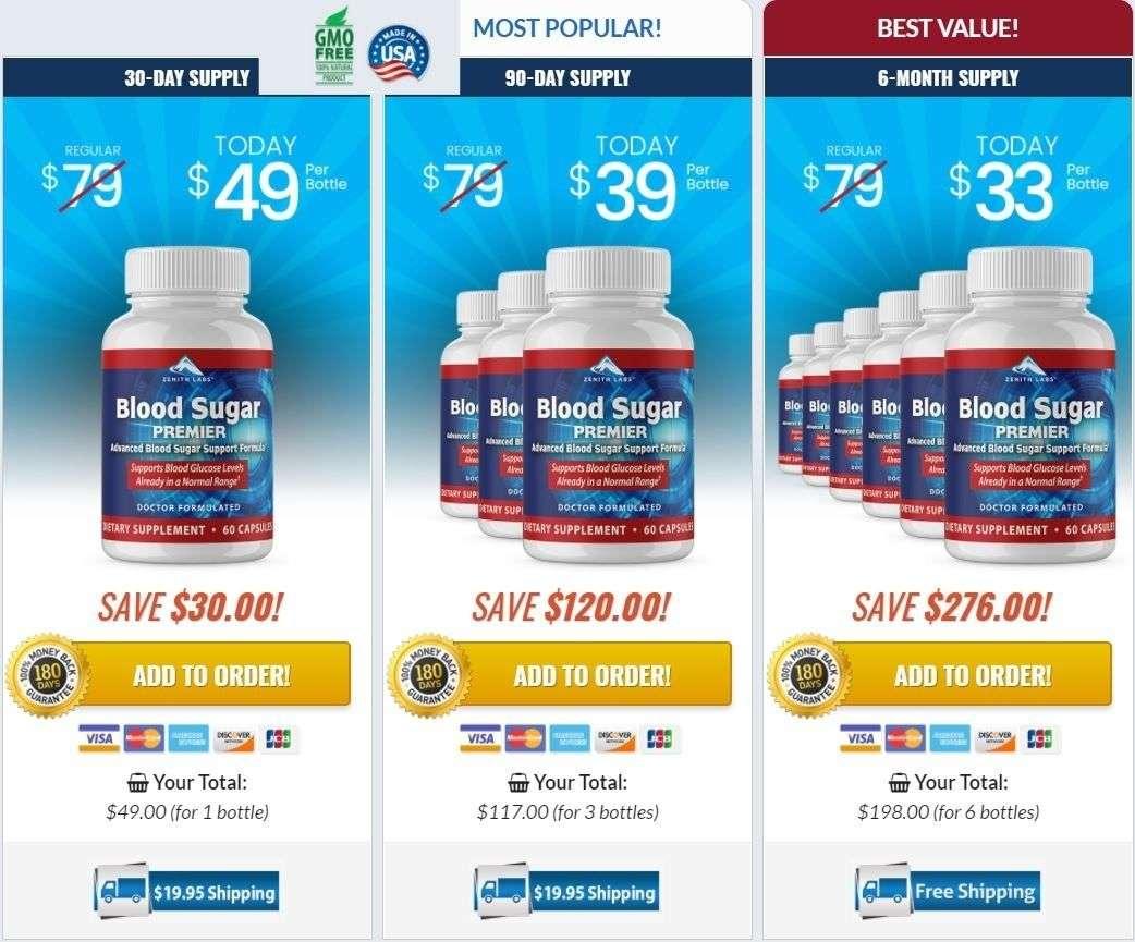 Buy Blood Sugar Premier